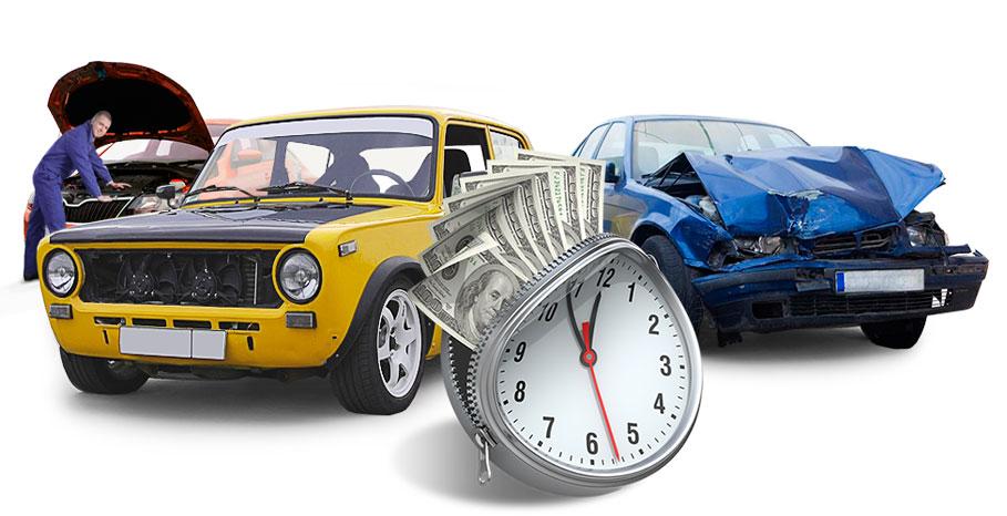 Как продать старое авто